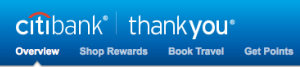 Citi Thank You points can be redeemed for merchandise and travel, though not transferred into airline or hotel loyalty programs