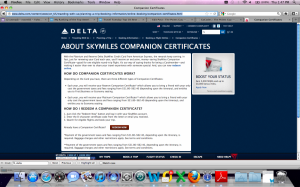 Both the Delta Platinum and Reserve cards will continue to offer companion tickets.