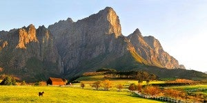 I'm looking forward to tasting South African wines in Franschoek.