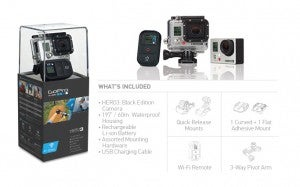 A GoPro camera is a great choice for amateur and professional photographers alike.