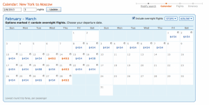 Cheap Flights to Moscow: From $357 TOTAL Roundtrip from Baltimore, NY from $452