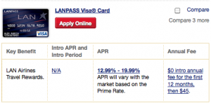 LANPass Visa