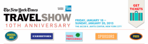Come See Me at the New York Times and LA Times Travel Shows – January and February