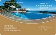 SPG Gold status.