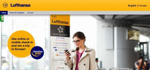 Win a trip on Lufthansa