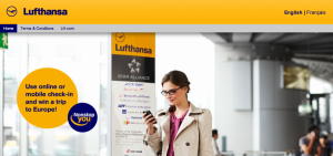 Win a trip on Lufthansa