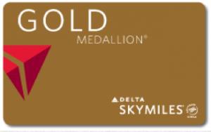 Delta Gold Medallion