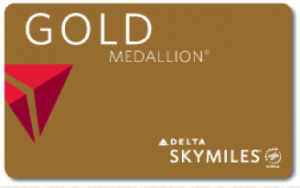 Delta Gold Medallion requires earning 50,000 MQM's a year.