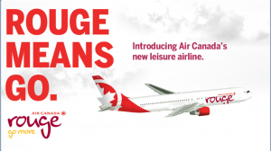 Today Only: New Air Canada Rouge Double Miles Fare Sale