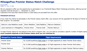 A status challenge could score you elite status until 2014.