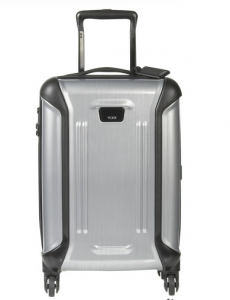 A Tumi roller carry on is both stylish and utilitarian.