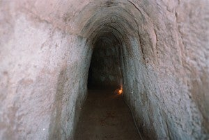 The Cu Chi Tunnels.
