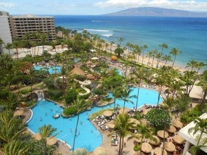 The Westin Maui was the most popular hotel for SPG point redemptions in 2012.
