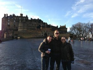 Boys weekend in Dublin and Edinburgh was in peril!