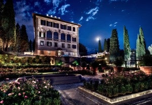 Exterior of the Il Salviatino hotel.
