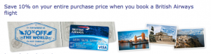 The 10% cardholder discount is one of the card's most valuable benefits.