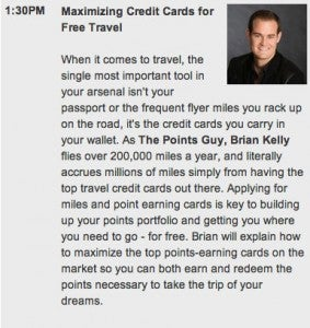 NYT Travel Show 1:30pm