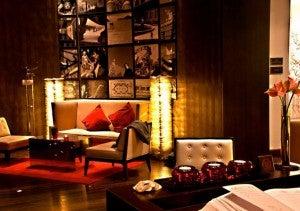 Lobby area of the Radisson Blu Style Hotel.