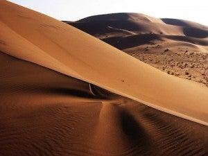 Namibia's desert landscape is like nowhere else on earth.