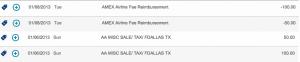 Both AA airline vouchers I bought were reimbursed.