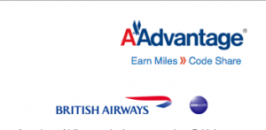Although American and BA are partners, you can't transfer miles between accounts.