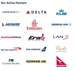 Alaska Airlines partners.