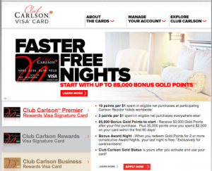 Enter my contest by telling me your favorite Carlson credit card benefit.