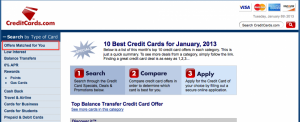 Go to CreditCards.com to get the offer legitimately.