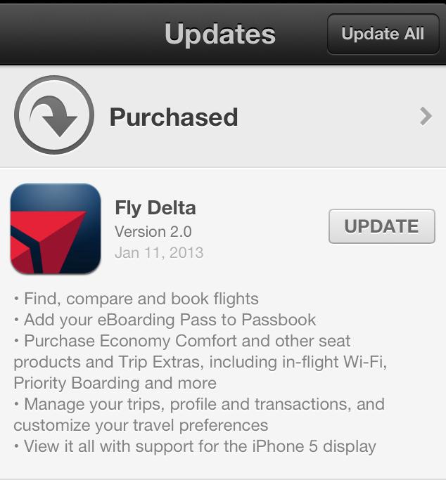 Delta app updates
