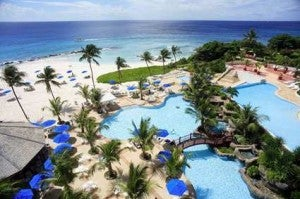 The Hilton Barbados is the only points option on the island - but also a great choice.