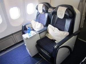 You could fly roundtrip business class to South Africa with just 110,000 miles.