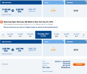 Feel like heading to Bermuda? You can get there for just $134 next week!