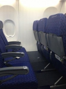 Main Cabin Select seating on the new plane.
