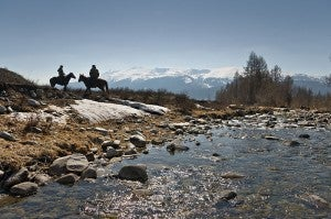 The Markakol Reserve in the Altay Mountains Kazakhstan - one of Central Asia's natural wonders.