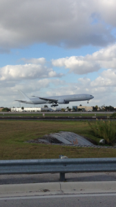 Brand spankin new AA 777-300 spotted at MIA earlier this week
