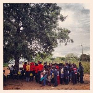 I loved meeting the kids at an orphanage my safari lodge sponsors near Sabi Sands.