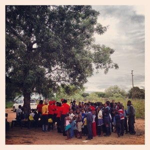 I loved meeting the kids at an orphanage my safari lodge sponsors near Sabi Sands.