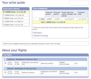 You essentially get two award tickets for the same mileage as one.
