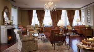 The Maison Orleans Club Lounge at The Ritz-Carlton, New Orleans.