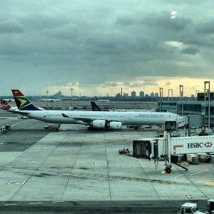 Using US Airways miles to fly South African Airways was a great use of points.