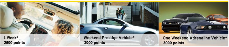 What you can get with Hertz Gold Plus Rewards.