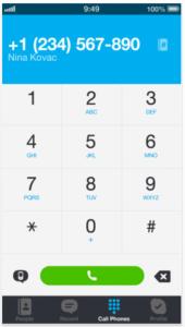 Skype App.
