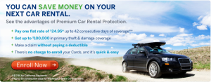 American Express Car Rental Protection