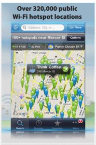 Wi-Fi Finder App.