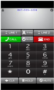 Whistle Phone App.