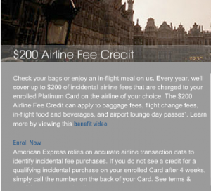 $200 Airline Fee Credit