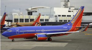 Southwest has the largest presence at John Wayne Airport.