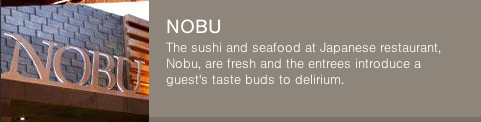 Nobu at Hard Rock