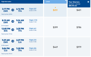 Book a round trip flight to Tampa for only $90.40!
