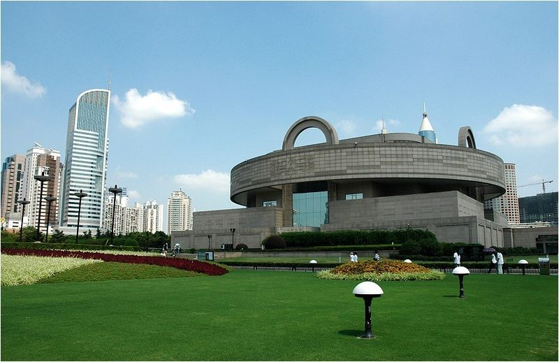 The exterior of the Shanghai Museum on People's Square.